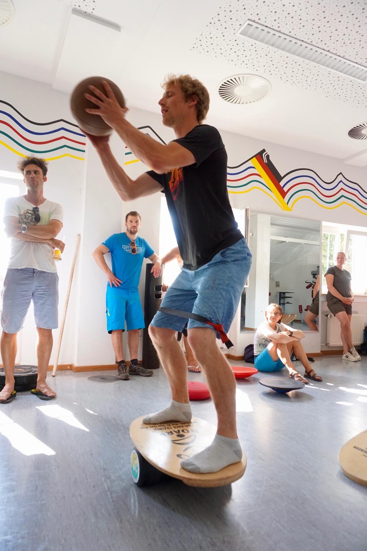 functional Training im Olympiastützpunkt Garmisch-Partenkirchen