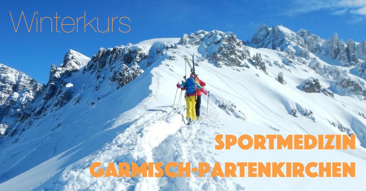 Gratwanderung beim off-piste Skifahren Winterkurs