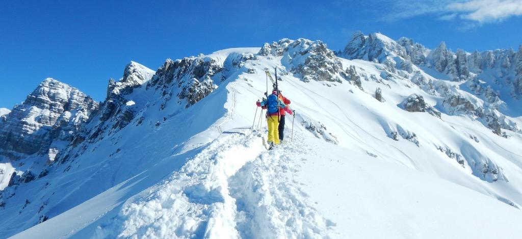 Gratwanderung ski