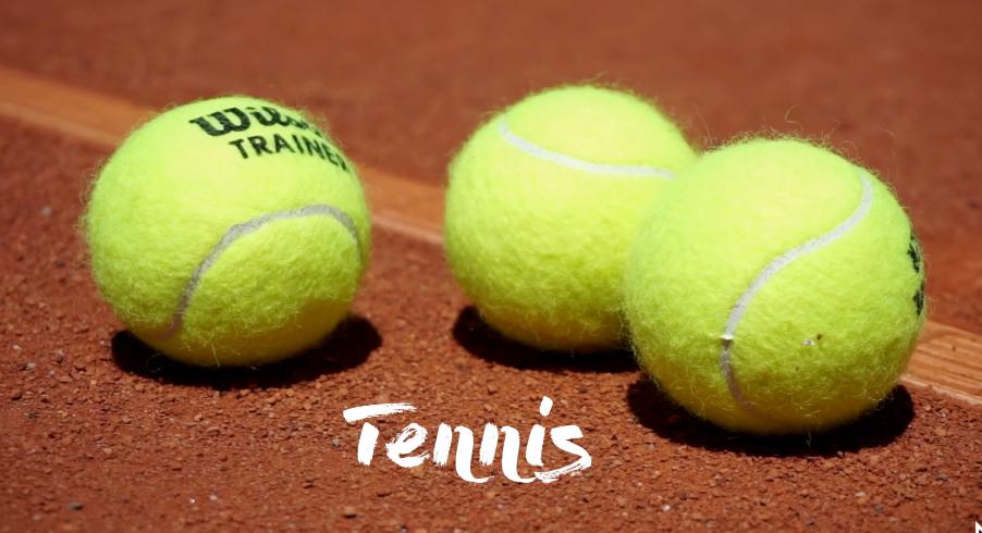Tennis beim Sommerkurs